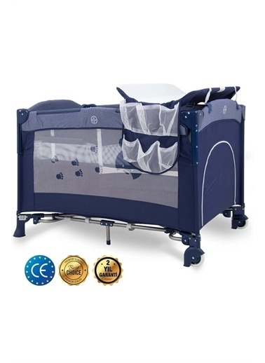 Kraft Fresh Anne Yanı Oyun Parkı 70*110 Cm Lacivert